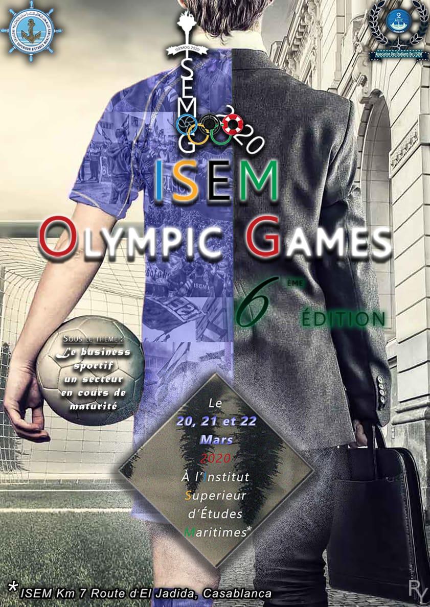 l'ISEM Organise la 6ème Édition de ses Jeux Olympiques Parascolaires