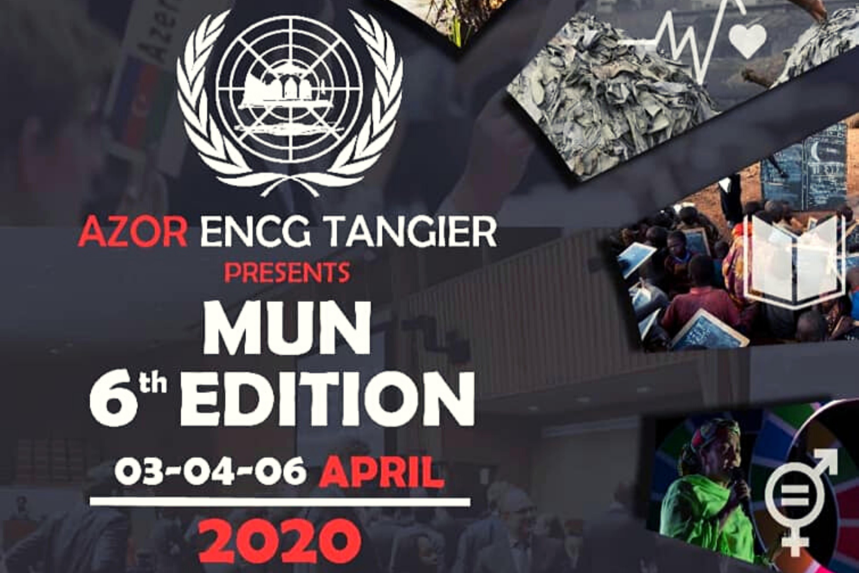 Azor de l'ENCG Tanger organise la 6ème édition du MUN