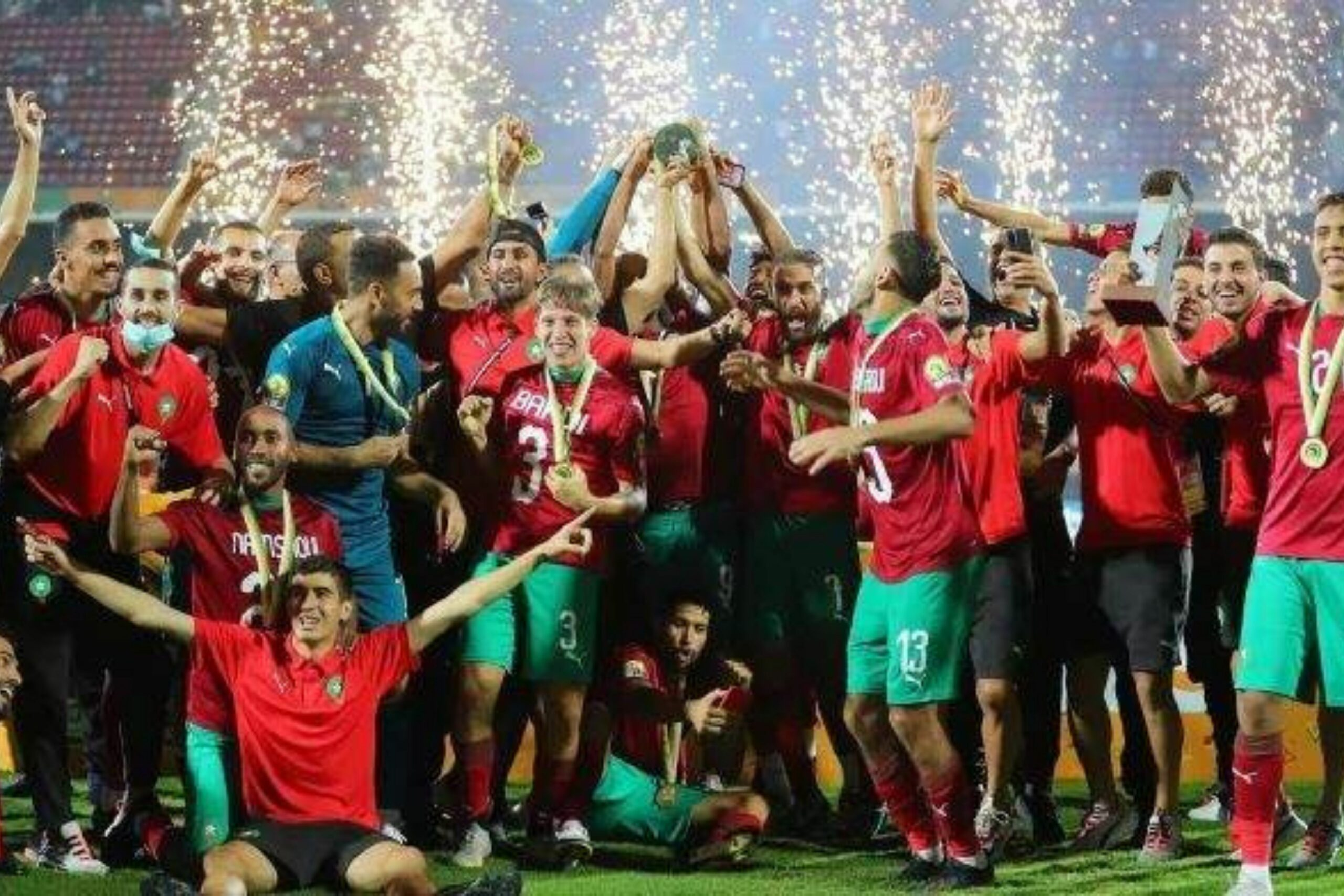 Le Maroc monopolise les prix individuels au CHAN 2021