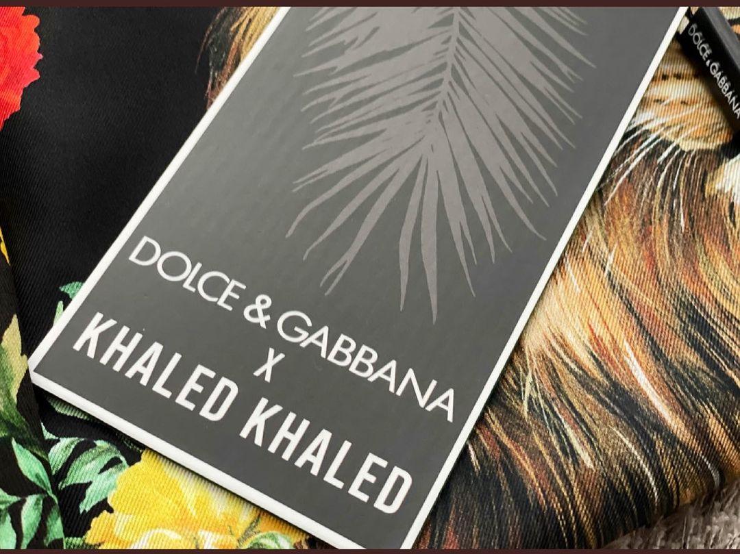 DJ KHALED x DOLCE & GABBANA