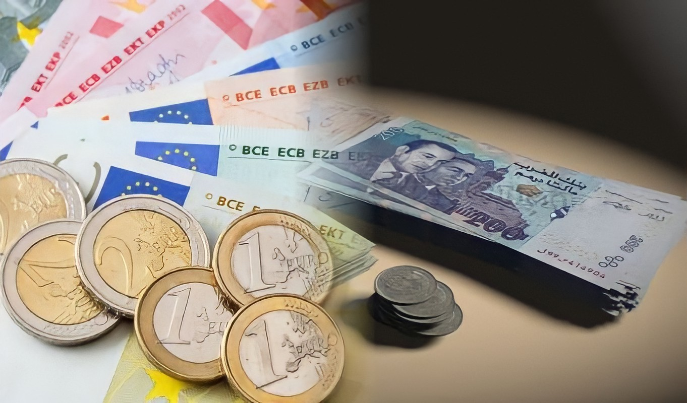 The dirham up against the euro